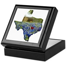 Texas Home Bluebonnets Keepsake Box