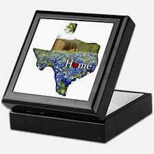 Texas Home Bluebonnets Keepsake Box