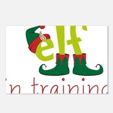 Elf In Training Postcards (Package of 8)