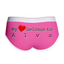 My Heart Belongs To Alva Women's Boy Brief