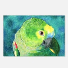 Blue-Fronted Amazon Postcards (Package of 8)