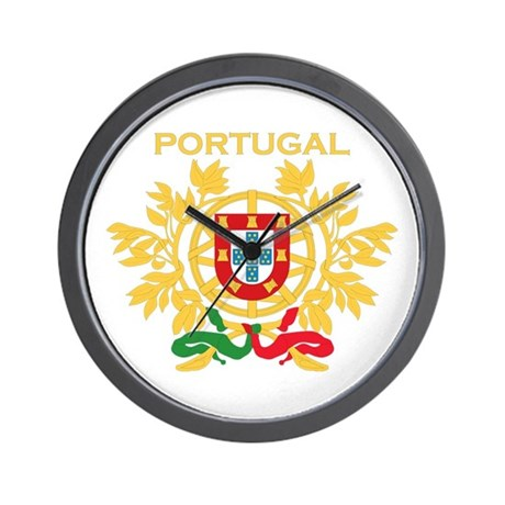 Portugal Products v1 Wall Clock
