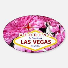 Wedding In Las Vegas Decal