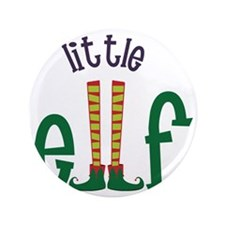 "Little Elf 3.5"" Button"