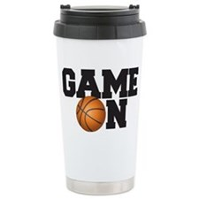 Game On Basketball Travel Mug