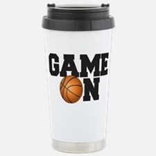 Game On Basketball Travel Mug