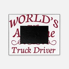 truck driver Picture Frame