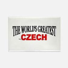 """The World's Greatest Czech"" Rectangle Magnet"