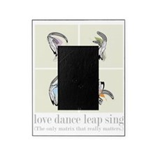 Love Dance Leap Sing Picture Frame