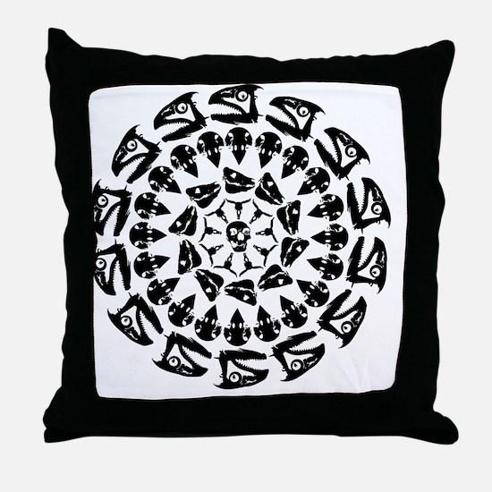 Paleo Kaleidoscope Throw Pillow