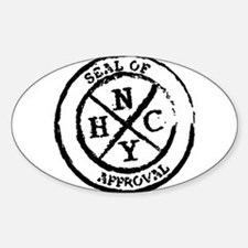 NYHC Seal of Approval Decal
