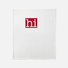 The Alphabet Throw Blanket