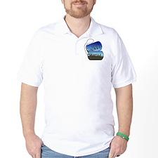Navy Mom Dog Tags T-Shirt