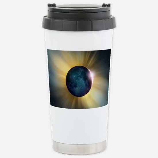 Total solar eclipse Stainless Steel Travel Mug