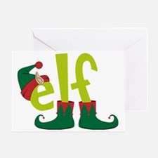 Elf Greeting Card