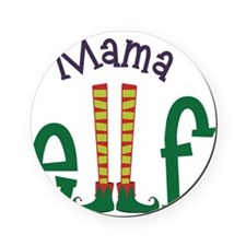 Mama Elf Cork Coaster