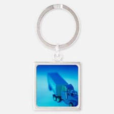 Toy lorry Square Keychain