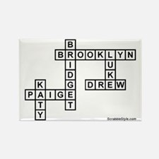 DARROW SCRABBLE-STYLE Rectangle Magnet