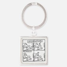 The Attention-Seeker... Square Keychain