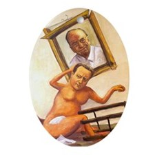 Leveson Inquiry: Murdochs Revenge Oval Ornament