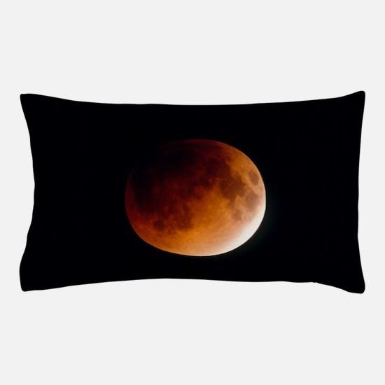 Total lunar eclipse, partial phase Pillow Case