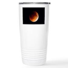 Total lunar eclipse, pa Travel Mug