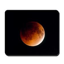 Total lunar eclipse, partial phase Mousepad
