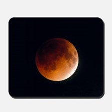 Total lunar eclipse, partial phase Mousepad