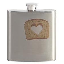 I Love Carbs (Vintage) Flask