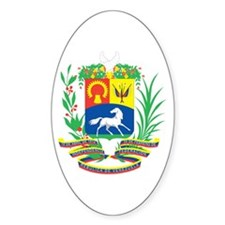 Venezuela Products Oval Decal