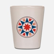 Eight Pointed Star Shot Glass
