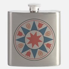 Eight Pointed Star Flask