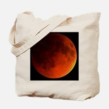 Total lunar eclipse Tote Bag