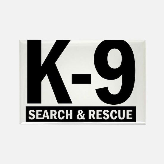 K-9 SAR Rectangle Magnet