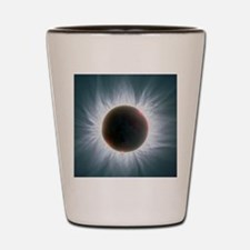 Total solar eclipse with corona Shot Glass
