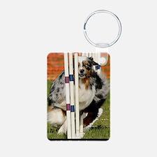 Australian Shepherd Rumor Keychains