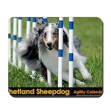 Shetland Sheepdog Blast Mousepad