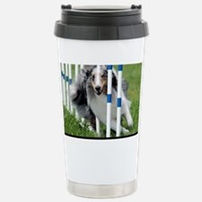 Shetland Sheepdog Blast Stainless Steel Travel Mug