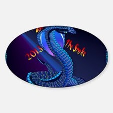 Calender Year Of The Snake-lettered Decal