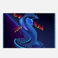 Calender Year Of The Snak Postcards (Package of 8)