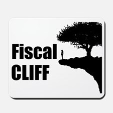 The Fiscal Cliff Mousepad