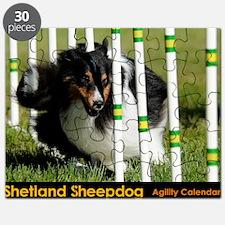 Shetland Sheepdog Jackpot Puzzle