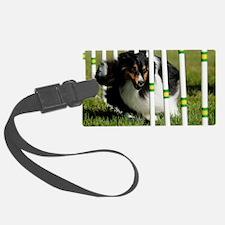 Shetland Sheepdog Jackpot Luggage Tag