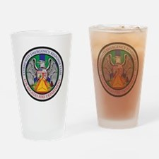 LAFD-CERT-LA Logo - no white Drinking Glass