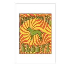 Groovy Dogos Postcards (Package of 8)