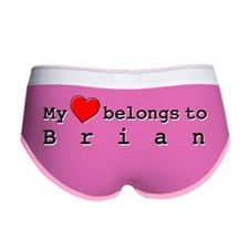 My Heart Belongs To Brian Women's Boy Brief