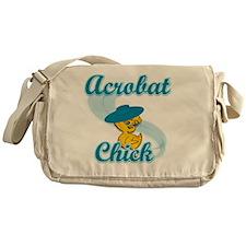 Acrobat Chick #3 Messenger Bag