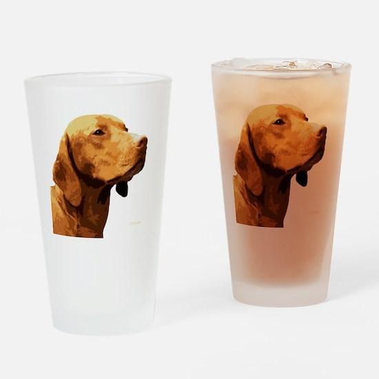 Vizsla Drinking Glass