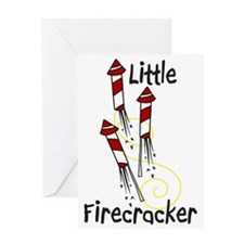 Little Firecracker Greeting Card