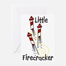 Little Firecracker Greeting Card